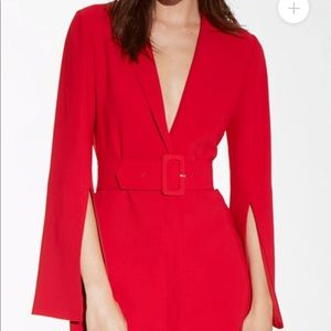 Amanda Uprichard Antwerp blazer style Dress